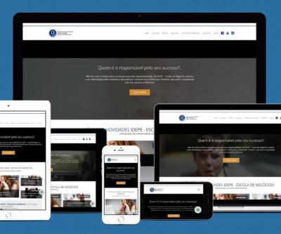 Desenvolvimento de um Site com Sistema de Blog e um EAD.