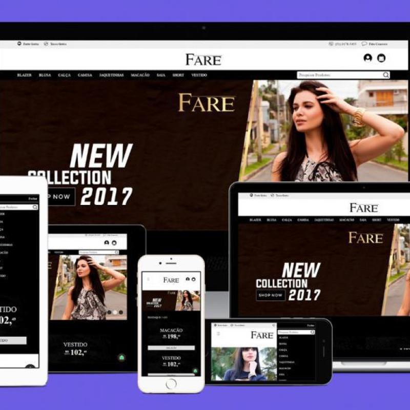 Site Institucional e E-commerce Profissional